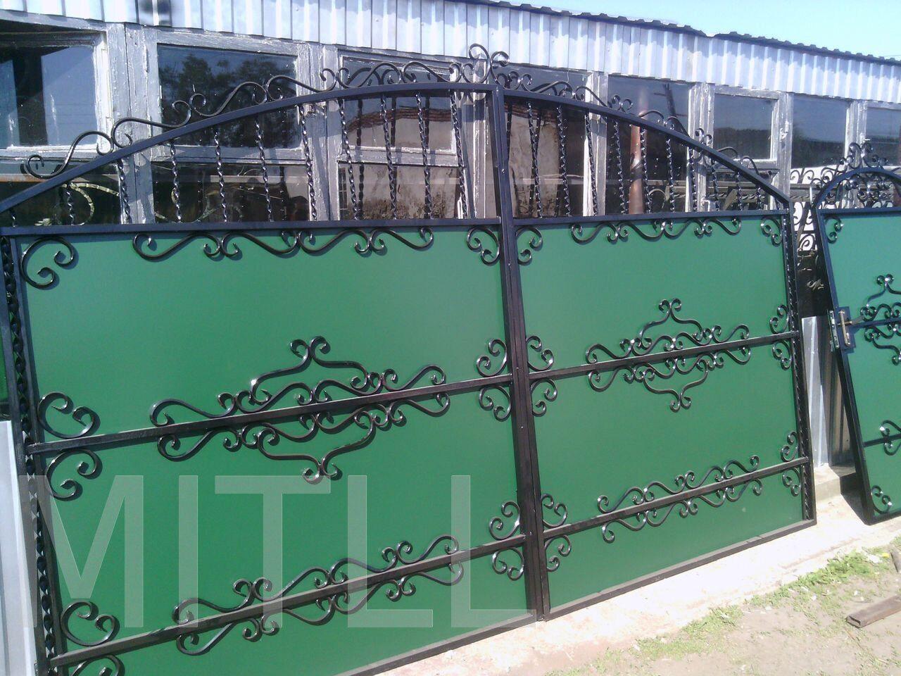 Купить калитку и ворота для участка сварные откатные ворота в серпухове